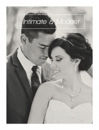 Intimate & Modest Wedding Package
